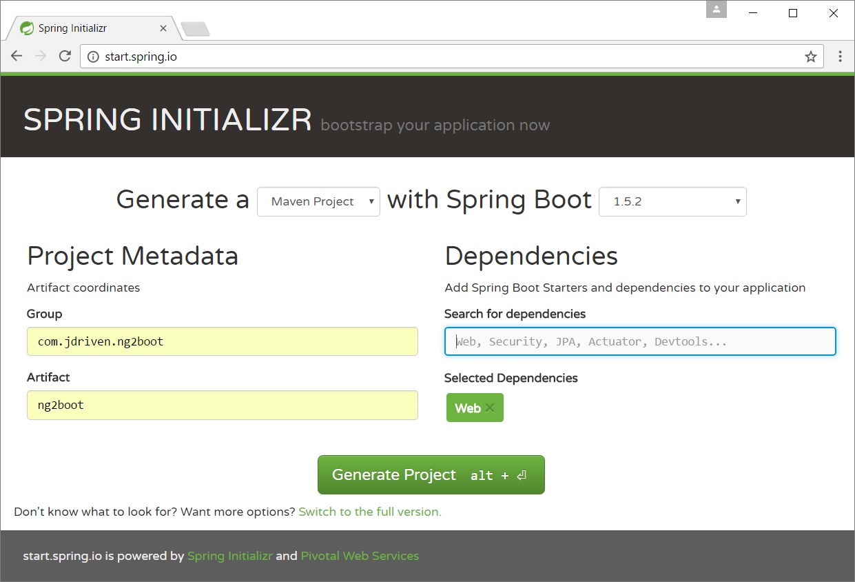 Angular2 and Spring Boot: Getting Started - JDriven Blog